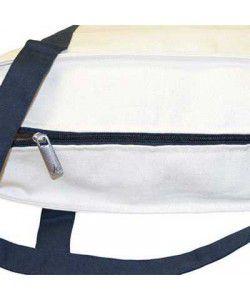 Sac coton anses avec zip - sacpub