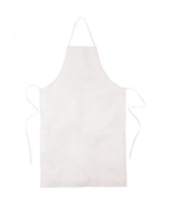 Tablier coton Blanc - tablier publicitaire - Sacpub