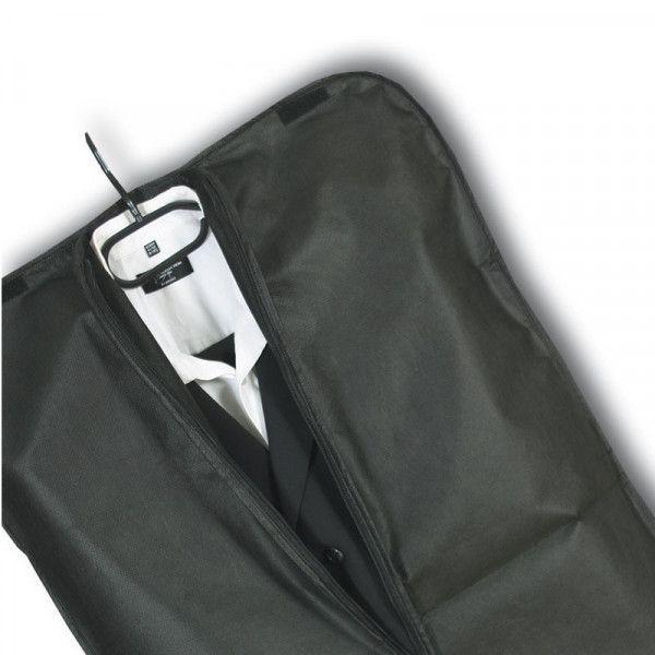 housse v tement publicitaire noir 60x100 cm pas cher sacpub. Black Bedroom Furniture Sets. Home Design Ideas