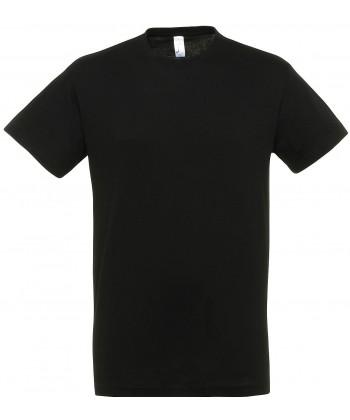 Tee shirt publicitaire Regent Noir - sacpub