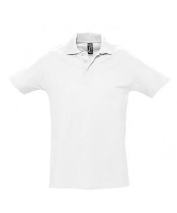 Polo Publicitaire Coton Blanc - sacpub
