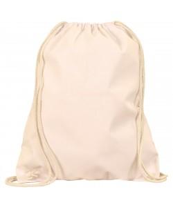 Sac à dos publicitaire coton Naturel 38x46 cm personnalisé par sacpub