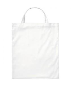 Sac coton BIO Blanc Anses courtes