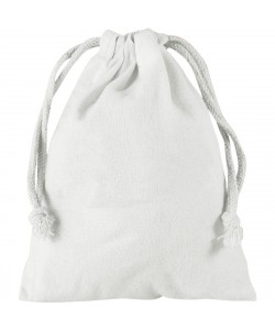 Pochette coton XS 10x14 cm