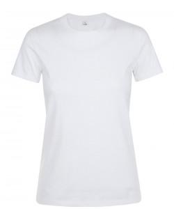 Tee-Shirt Publicitaire Femme REGENT coton Blanc