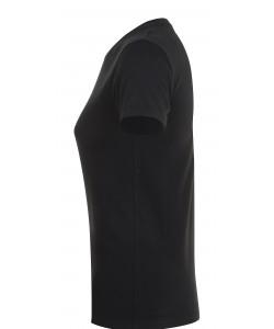 Tee-Shirt Publicitaire Femme REGENT coton noir