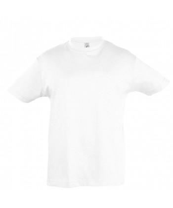 Tee-Shirt Publicitaire Enfant REGENT coton Blanc - Sacpub