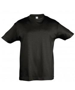 Tee-Shirt Publicitaire Enfant REGENT coton Noir