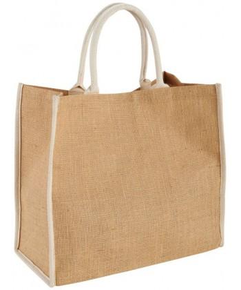 946c68d9ca Grand Sac shopping jute publicitaire 36x40,5 cm pas cher | Sacpub