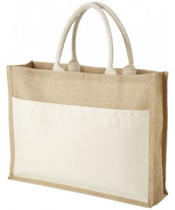 Sac shopping jute Mumba 30x30 - sacpub