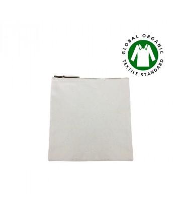 Trousse coton BIO 23x23 cm - Sacpub