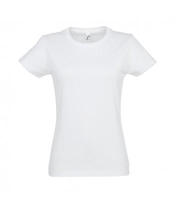 Tee-shirt IMPERIAL Blanc Femme - Sacpub