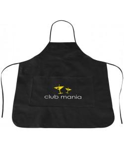 Tablier Polypro noir Cocina - Sacpub