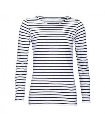 Tee-Shirt Marinière Femme - Sacpub
