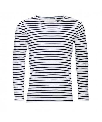 T-Shirt Marinière Homme - Sacpub
