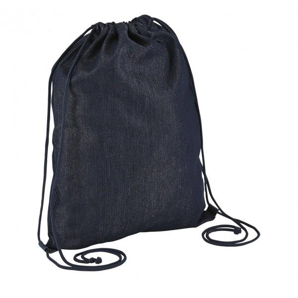 sac dos en jean brut publicitaire personnalisable sacpub. Black Bedroom Furniture Sets. Home Design Ideas