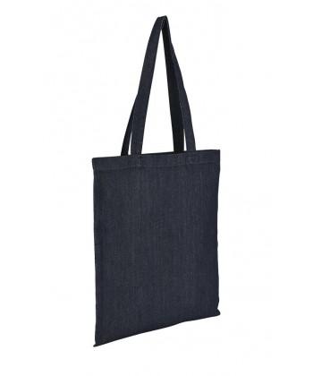 Sac coton jean bleu brut - Sacpub