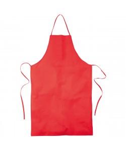 Tablier coton rouge publicitaire personnalisé par Sacpub