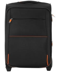 Valise cabine noire airporter 2 roues personnalisée par Sacpub