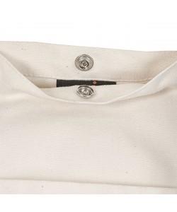Sac coton marin avec anses longues personnalisé par sac pub