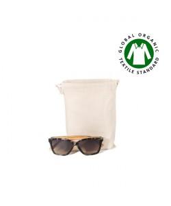 Pochon coton BIO S 15x20 cm personnalisé par sacpub grossiste objet pub ecolo green