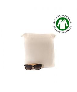 Pochon coton BIO 25x30 cm personnalisé en France par Sacpub grossiste objet pub ecolo green-tote bag bio imprimé en France par S