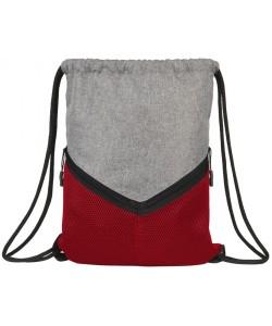 Sac à dos sport avec cordon Voyager couleur gris personnalisé en France par Sacpub