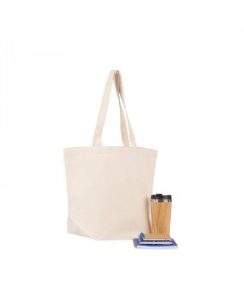 Cabas coton BIO NOUMEA 370 à personnaliser par Sacpub expert du sac publicitaire- tote bag bio imprimé en France par Sacpub