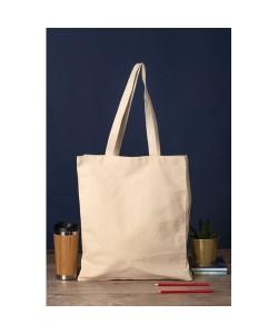 Cabas coton BIO PARIS 330 gr/m2. Tote bag coton bio 38 x 42 x 10 cm - tote bag bio imprimé en France par Sacpub
