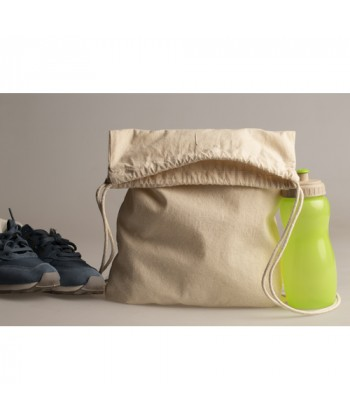 Sac à dos coton BIO EASY 140 gr/m2  personnalisé. Tobe bag coton BIO