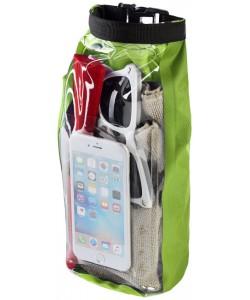 Sac-extérieur-impermeablede-2 l-avec-pochette-pour-téléphone-Tourist-imprimé-en-France-par-Sacpub-spécialiste-du-textile-publici