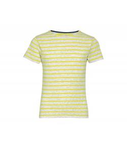 TEE-SHIRT-ENFANT-COL-ROND-RAYÉ-imprimé-en-France-par-Sacpub-spécialiste du textile publicitaire