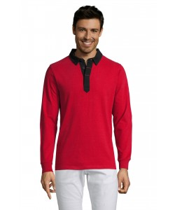 Polo-Rugby-PRESTON-Homme-Bicolore-personnalisable