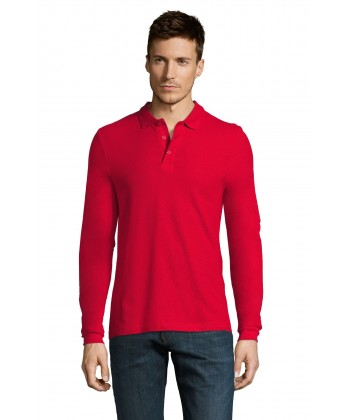 Polo-Homme-WINTER-manches-longues