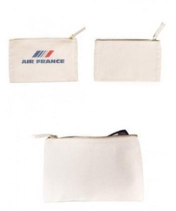 Trousse coton personnalisable 20x12 personnalisé en France par Sacpub grossiste objet pub EXPRESS 24H