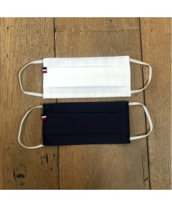Masque coton 3 couches fait en France personnalisable avec votre logo