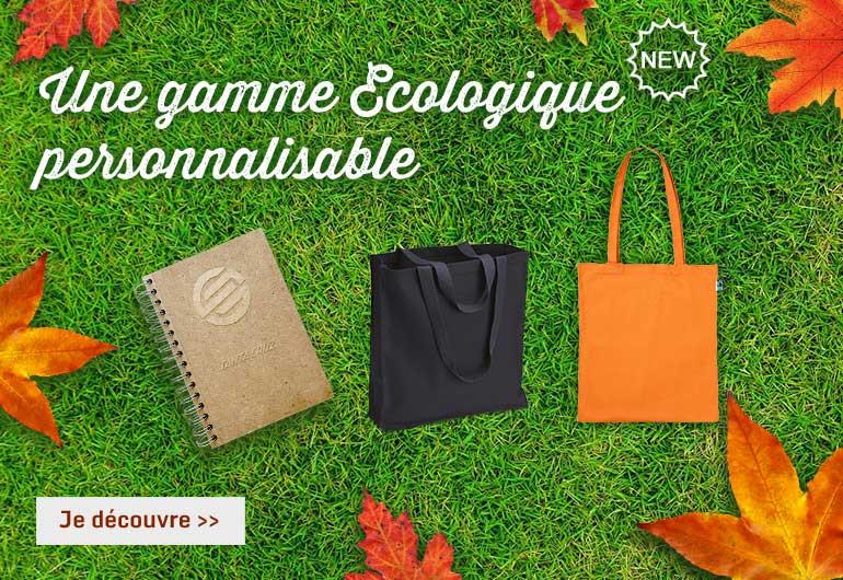 Nouveau objets publicitaires écologique personnalisable en France par Sacpub