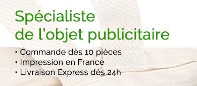 sac pub - impression france, imprimé et livré en express dès 24h, commande dès 10 pc.